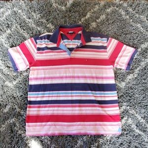 Tommy Hilfiger Vintage Polo Reds, Pinks, Blues